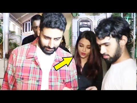 This Video Of Abhishek Bachchan Protecting Aishwarya Rai Bachchan Publicly Proves He Is The Best