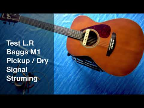 L.R Baggs M1 Testing Compare Dry/Wet