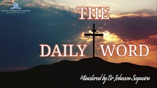 THE DAILY WORD - How Do We Find Joy In The Midst Of Stress SHARJAH 3rd March 2019