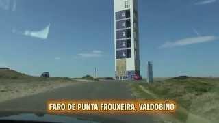 FARO DE PUNTA FROUXEIRA E GALERIAS DE DEFENSA MILITAR DE LA COSTA