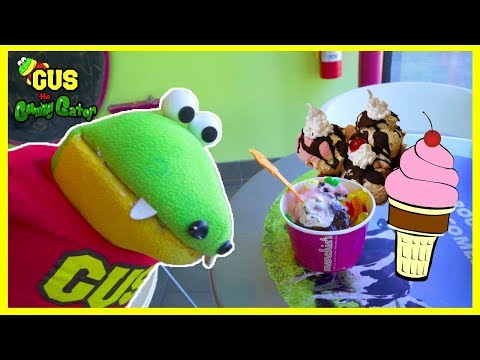 Real Ice Cream Hunt and Learn Colors with Gus!