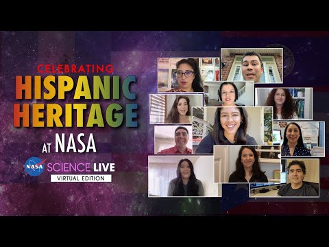 NASA Science Live: Celebrating Hispanic Heritage