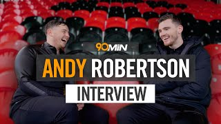 Andy Robertson on Premier League title talk, signing for Liverpool and the Champions League finals!