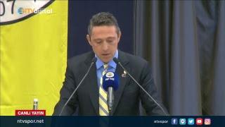 (CANLI) Ali Koç, Fenerbahçe Yüksek Divan Kurulu Toplantısı'nda açıklamalarda bulunuyor