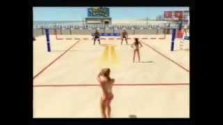 Summer Heat Beach VolleyBall ps2 Gameplay
