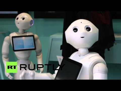 Japan: SoftBank Group Corp. launch robot-operated mobile phone shop
