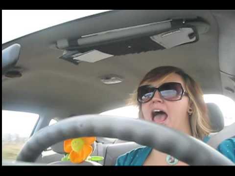 karaoke in my car.