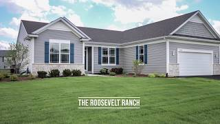 Ranch Home from KLM Builders in Richmond, IL - Roosevelt House Plan