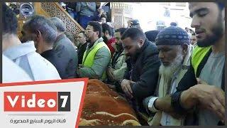 بالفيديو.. لحظة تشييع جثمان عمر عبد الرحمن بمسقط رأسه فى الدقهلية كاملا
