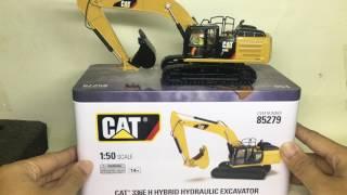 UNBOXING CAT 336E HYBRID EXCAVATOR ,แกะกล่องรีวิวโมเดลเหล็กรถขุด CAT 336E ราคา 3,100 บาท