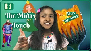 The Midas Touch – Fairy Tale   Kids Story   Nivi's ToyStory   Moral Story   Bedtime Story