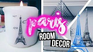 ? DIY City Inspired Room Decor {PARIS} ?