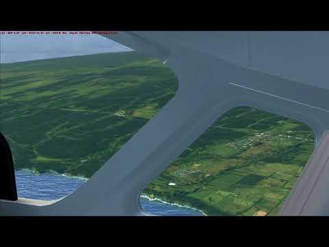 Hawaï de HI05 Honokoa airstrip à HI27 Upper Paauilo airstrip en Cessna C208B Grand CaravanB
