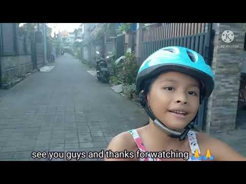 Audi is riding bicycle, borrowing bicycle from her cousin as Audi's bike is broken 🤕 - 52. thumbnail