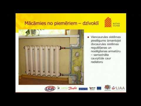 Siltumapgādes sistēmas renovācija/rekonstrukcija daudzdzīvokļu mājā. - R.Lakse, LSUA