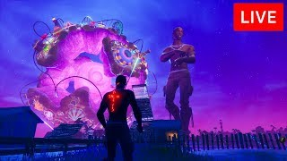 ? [LIVE] *NEW* FORTNITE TRAVIS SCOTT EVENT CONCERT!
