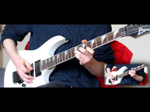 Embracing Aeons   'The Funeral Pyre' EP - Official Guitar Playthrough Video