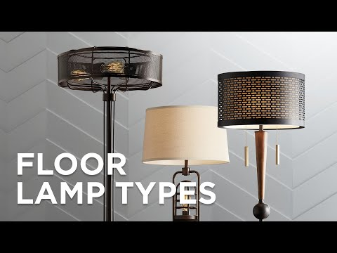 Types Of Floor Lamps - Buying Guide - Lamps Plus
