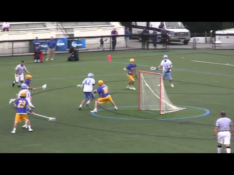 Great Lacrosse Goal - Kyle Wharton of Johns Hopkins