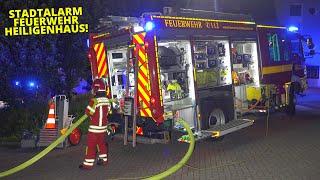 [MASCHINENBRAND IN EINER FIRMA] - Gebäude stark verraucht - 2 Feuerwehrleute verletzt - Stadtalarm -
