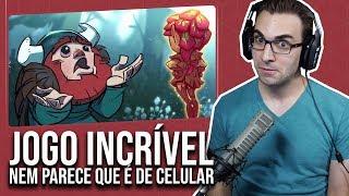 Jogo Mobile ESPETACULAR | Oddmar - O Início de Gameplay, em Português PT-BR