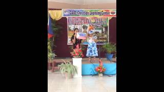 care christian learning center Buwan ng Wika draw and tell 2016 angel rhain