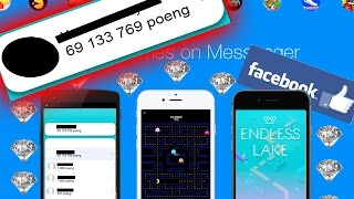 HOW TO HACK ENDLESS LAKE || ALL FACEBOOK MESSENGER INSTANT GAMES
