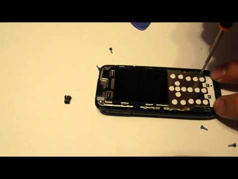 Nokia 2730c Disassembly & Assembly - Digitizer, Screen & Case Replacement Repair