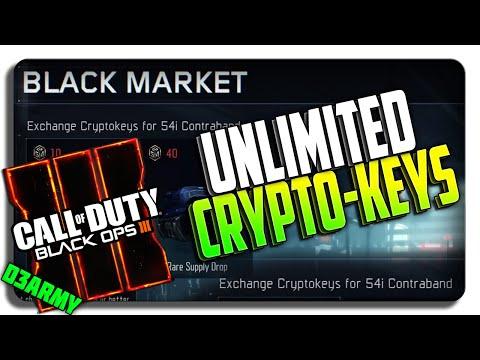 Black Ops 3 Glitches: UNLIMITED CRYPTOKEYS EXPLOIT!!! (BO3 Crypto Key Glitch / Exploit)