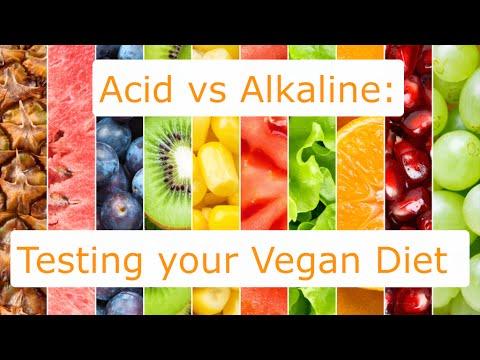 Acid vs Alkaline: Testing your Vegan Diet