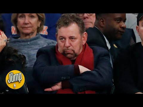 The Knicks press conference was so unusual, it had to come from the top - Amin Elhassan | The Jump