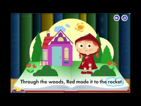 SUPER WHY Story Book Creator Little Red Riding Hood Cartoon Animation PBS Kids Game Play F