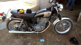 Забавный мотоцикл и подвеска Пинчера