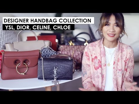 DESIGNER BAG COLLECTION PART 3 | Dior, YSL, Celine, Gucci, Chloe, Balenciaga