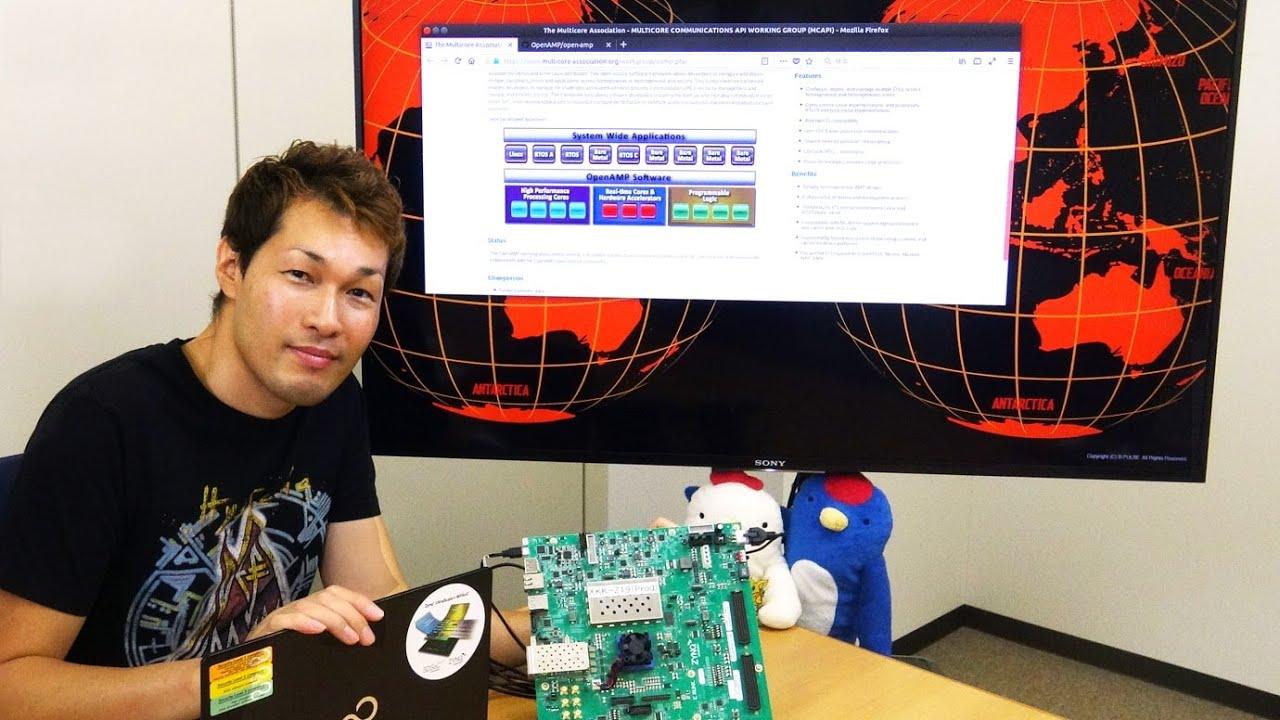 OpenAMPをMPSoCで動かしてみよう!|組み込みLinux・MPSoC編