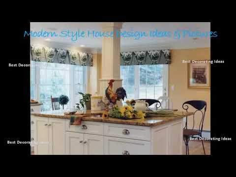 French Bistro Style Kitchen Design Modern Style Kitchen Decor Design Ideas Picture