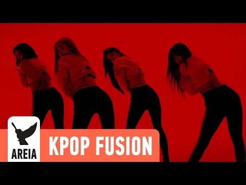 EXID  - DDD (덜덜덜)   Areia Kpop Fusion #18 REMIX