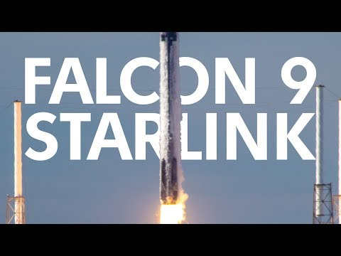 🔴Трансляция пуска SpaceX Falcon 9 (Starlink 1)