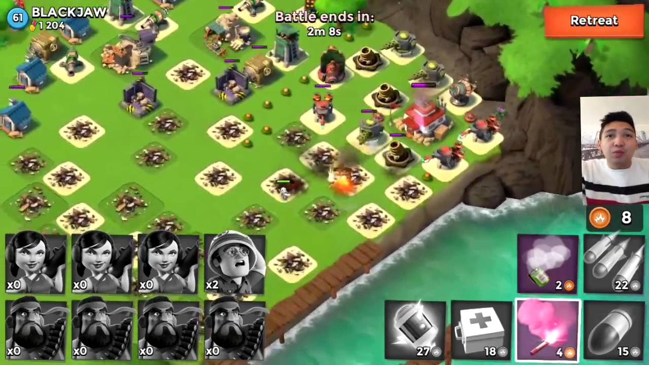 best defense layout | boom beach | war time - youtube