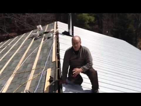 how to vent a metal roof
