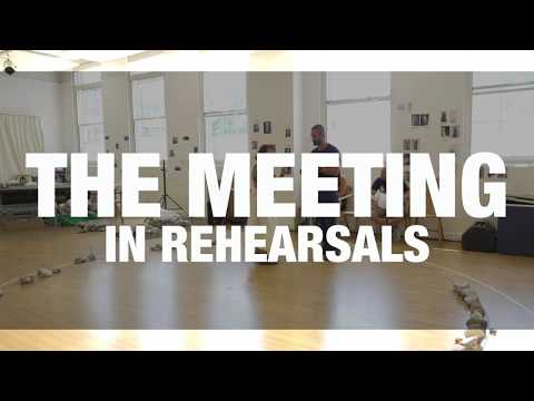 The Meeting  Rehearsal   Chichester Festival Theatre