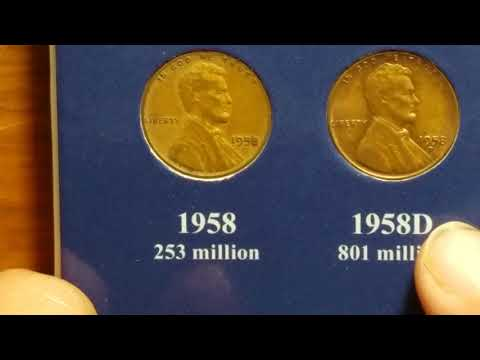 Repeat 1958 Penny , 1961 Penny , 1963 Penny  Worth It