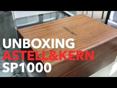 Astell & Kern A&ultima SP1000 High Resolution Music Player Unboxing