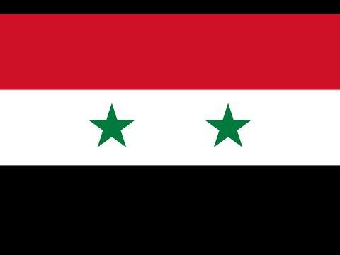 Флаг Сирии.