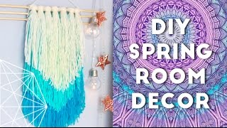 DIY Spring Room Decor Ideas and Organization 2016