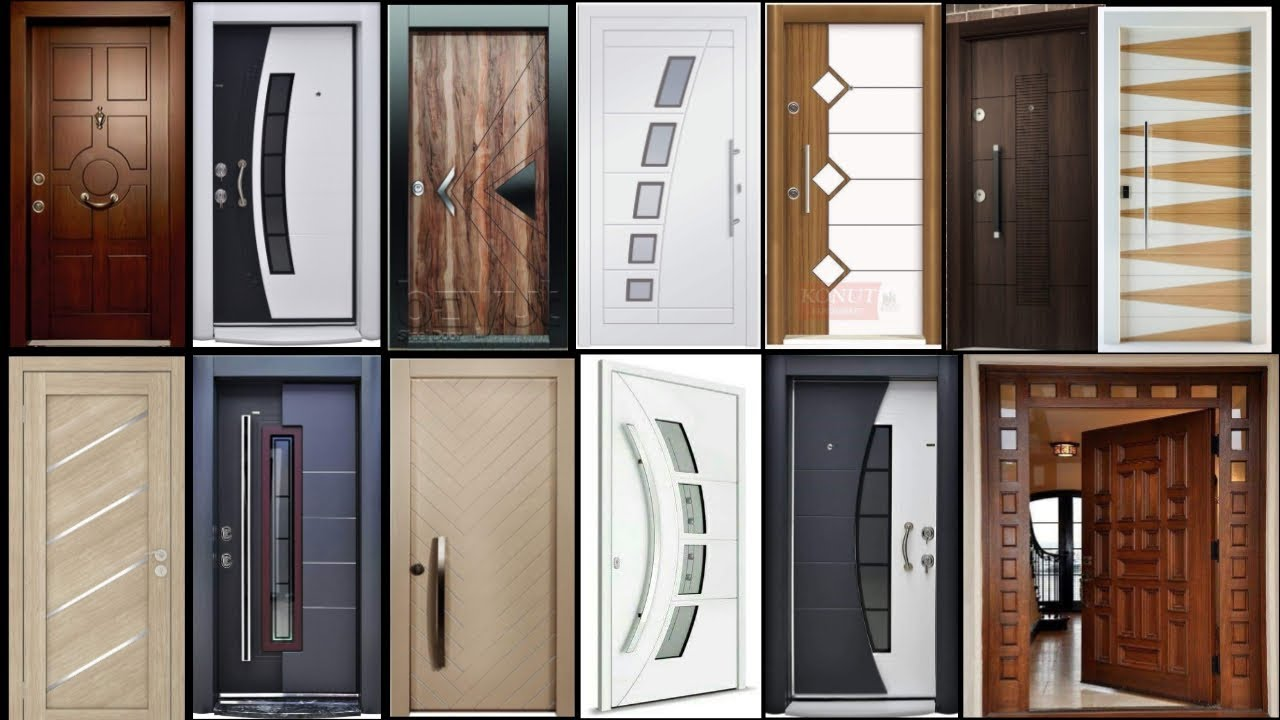 Top 50 Modern Wooden Door Designs For Home Main Door Design For Rooms 2019 Part 1