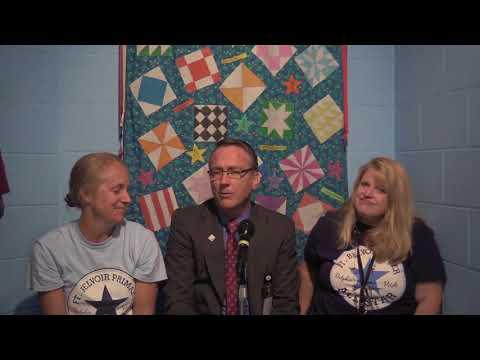 Dr. Brabrand Visits Fort Belvoir Elementary School