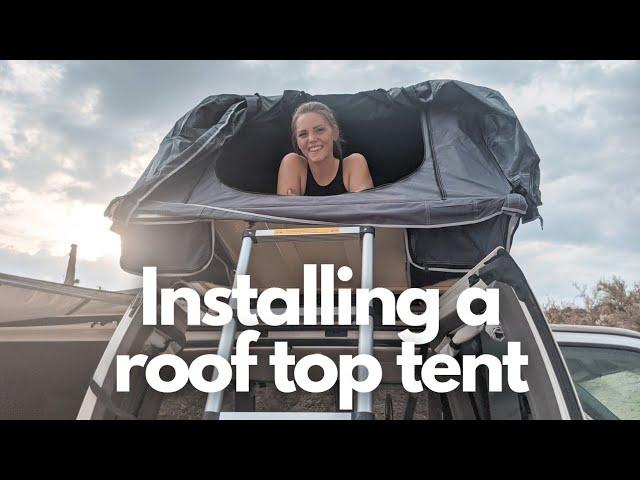 Adding a Roof Top Tent to a Van Conversion | Van Build
