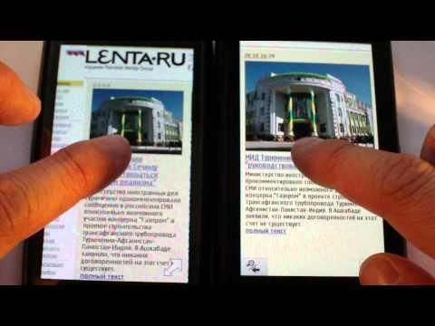Opera Mini Symbian (sis Version) Vs Opera Mini Java Vs Opera Mobile Vs Symbian^3 Browser