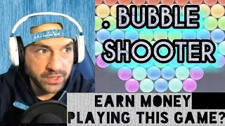 BUBBLE SHOOTER | Earn Money Cash Rewards Paypal App Apps Game Online 2021 Review Youtube Video screenshot 4